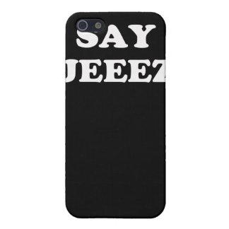Diga el caso de Jeez IPod iPhone 5 Carcasas