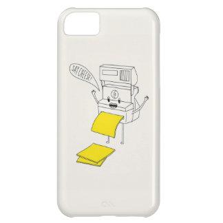 Diga el caso del iPhone 5 del queso Funda Para iPhone 5C