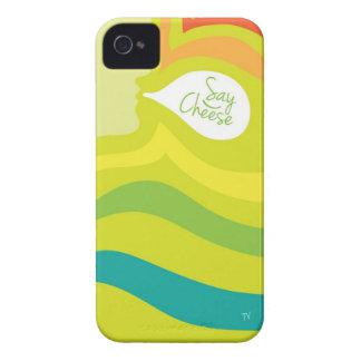 Diga el caso del iPhone del queso iPhone 4 Case-Mate Carcasa