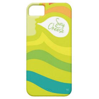 Diga el caso del iPhone del queso iPhone 5 Carcasa