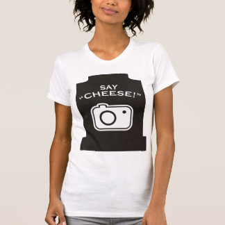 ¡Diga el queso! Camiseta