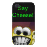 Diga el queso iPhone 4 protectores