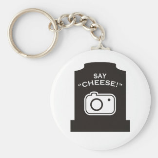 ¡Diga el queso! Llavero Redondo Tipo Pin