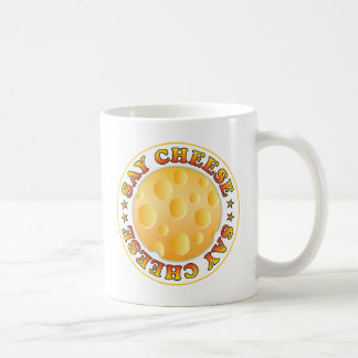 Diga el queso R Taza Clásica