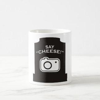 ¡Diga el queso! Taza