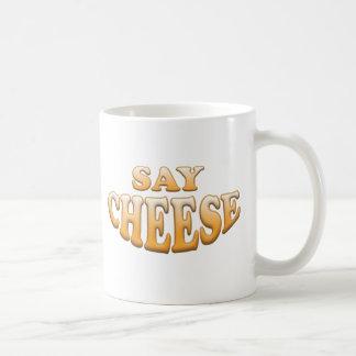 Diga el queso taza clásica