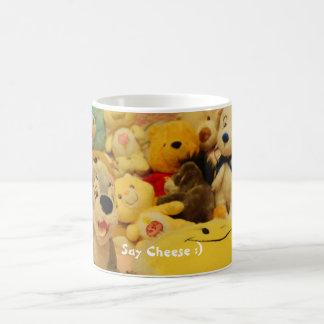 Diga el queso:) taza clásica