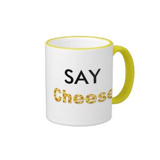 diga el queso taza de dos colores