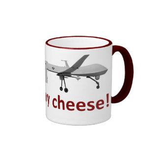 ¡diga el queso! taza de dos colores