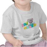 Diga el regalo del ratón del queso para los niños camiseta