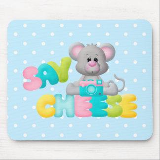Diga el regalo del ratón del queso para los niños tapete de ratones