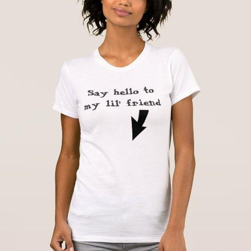 Diga hola a mi amigo del lil camisetas