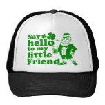 Diga hola a mi pequeño amigo gorras