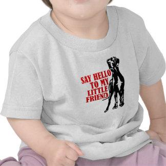 diga hola a mi pequeño amigo camisetas