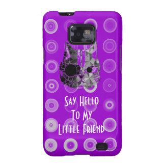 Diga hola a mis pequeñas cajas del gatito Iphone5 Samsung Galaxy S2 Carcasa