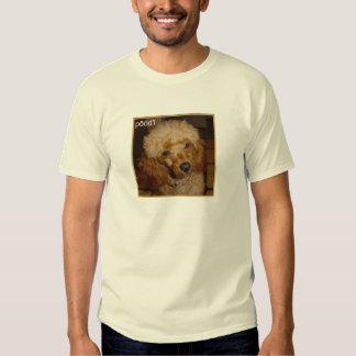 Diga la camiseta del caniche remeras