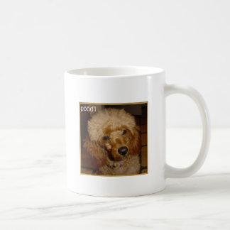 Diga la taza del caniche