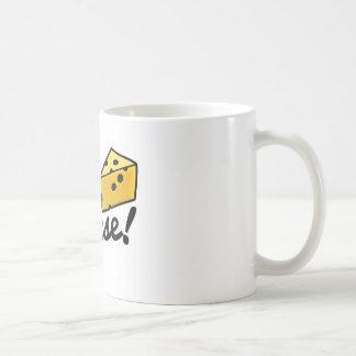 Diga la taza del queso