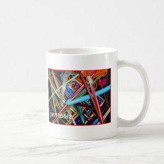 Diga las herramientas del hilado taza