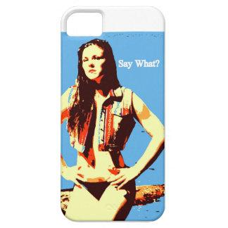 diga lo que caso del iphone iPhone 5 fundas