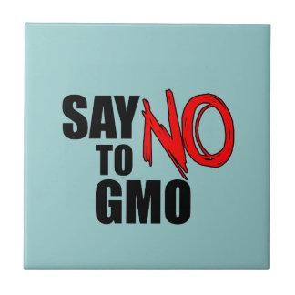 Diga NO a GMO Teja