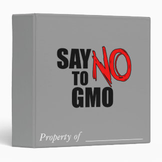 Diga NO a GMO