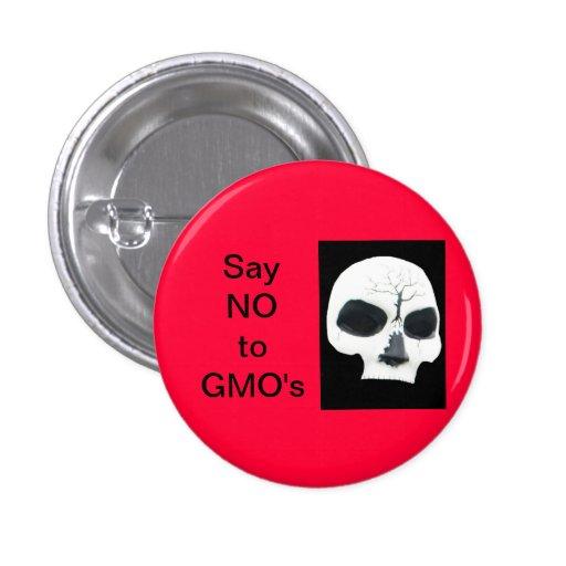 DIGA NO A GMO - CRÁNEO PINS