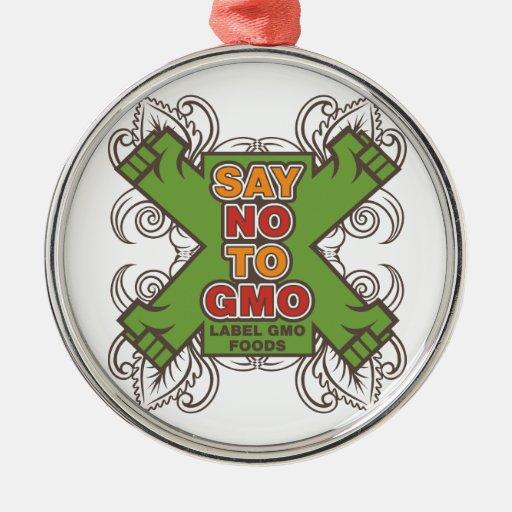 Diga no a GMO Ornamente De Reyes