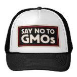 Diga no a GMO Gorro De Camionero