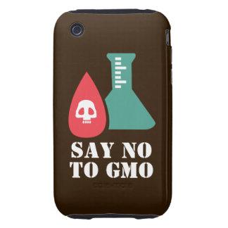 Diga no a GMO iPhone 3 Tough Coberturas