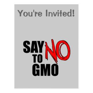 Diga NO a GMO Postal