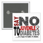 Diga NO a la diabetes juvenil 1 Pins