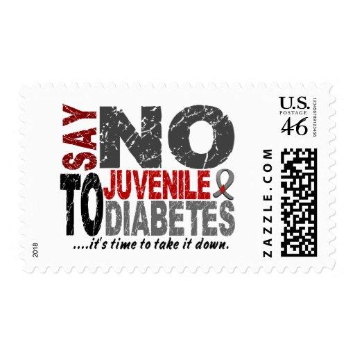 Diga NO a la diabetes juvenil 1