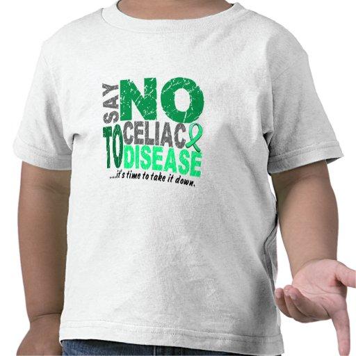 Diga NO a la enfermedad celiaca 1 Camisetas