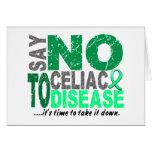 Diga NO a la enfermedad celiaca 1 Felicitacion