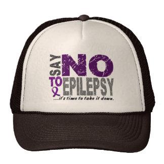 Diga NO a la epilepsia 1 Gorra