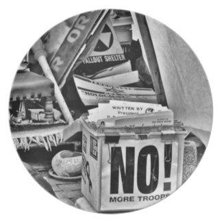 Diga NO a la guerra Plato De Comida