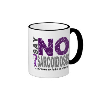 Diga NO a la sarcoidosis 1 Taza