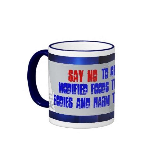 diga no a la taza de GMF