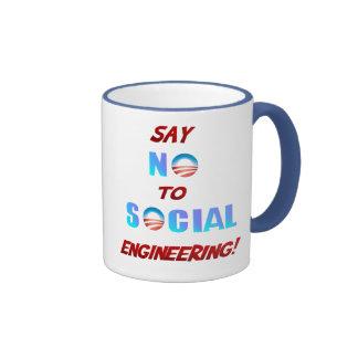Diga NO a la taza de la ingeniería social