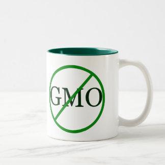 Diga no a la taza del café de GMO