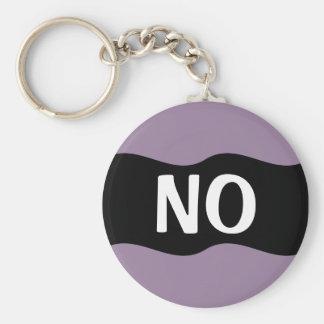 Diga no a la violencia, al abuso, a las drogas, al llavero redondo tipo pin