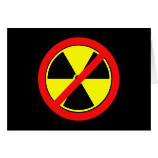 Diga NO a las camisetas de la energía atómica y de Felicitación
