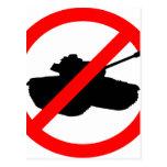 Diga no a las guerras postal