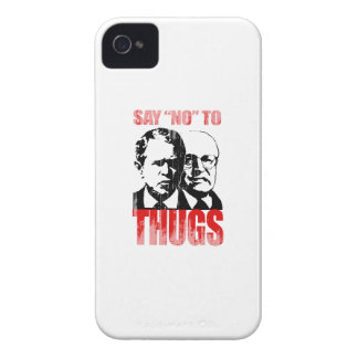 Diga no a los gamberros (2) Faded.png Case-Mate iPhone 4 Cárcasas