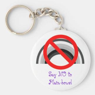 ¡Diga NO a los Llano-arcos! llavero