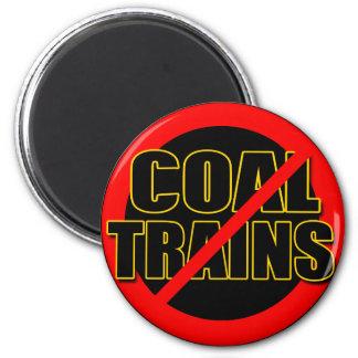 Diga NO a los trenes del carbón en el nanovatio pa Imán Para Frigorifico