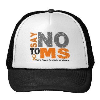 Diga NO a ms 1 Gorros Bordados