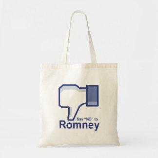 Diga no a Romney Bolsas