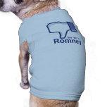 Diga no a Romney Camisa De Perrito